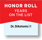 Honor Roll Years On The List Dr. DiAntonio
